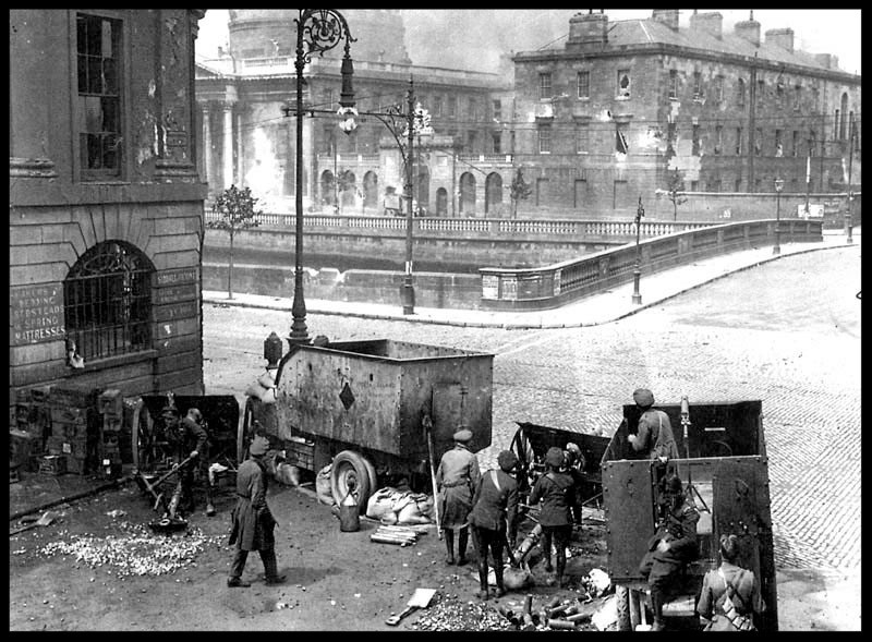 Attack on the Four Courts 1922