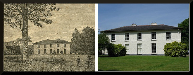 Shandy Hall, then and now