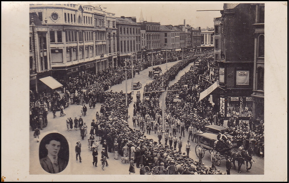 Michael Lynch's Funeral Procession, Cork