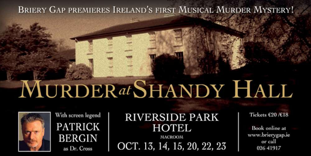 Briery Gap Poster of Murder at Shandy Hall