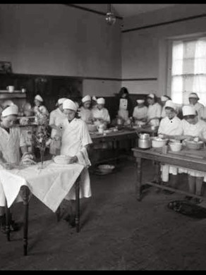 COOKERY & LAUNDRY INSTRUCTION IN IRISH NATIONAL SCHOOLS IN THE EARLY TWENTIETH CENTURY
