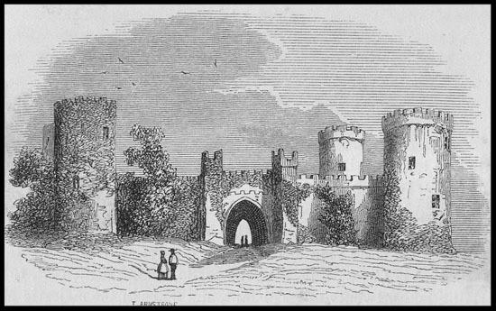 Dromagh Castle 1844