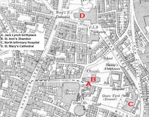 Map of Shandon