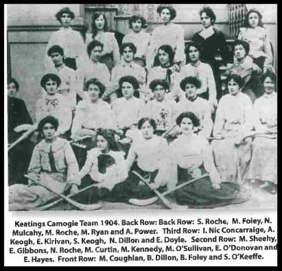 Keating's Camogie Team 1904