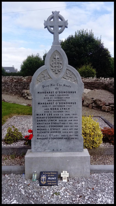 O'Donoghue graveyard plot, Caherlag