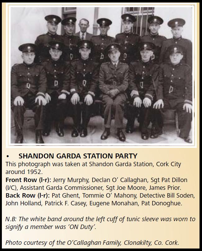 Shandon Garda Barracks 1952