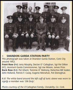 Shandon Garda Barracks 1952