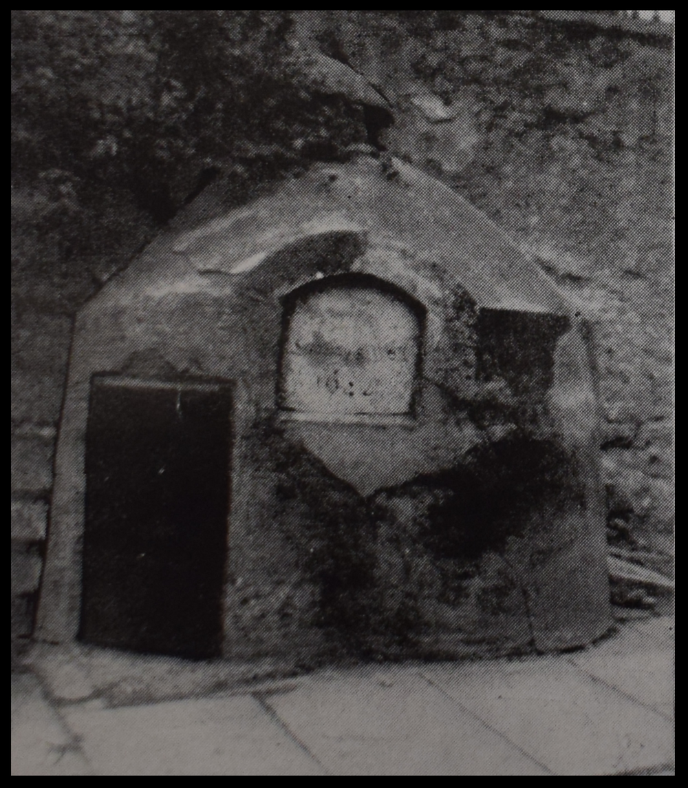 Holy Well, Sunday's Well, with Masonry Structure, 1945