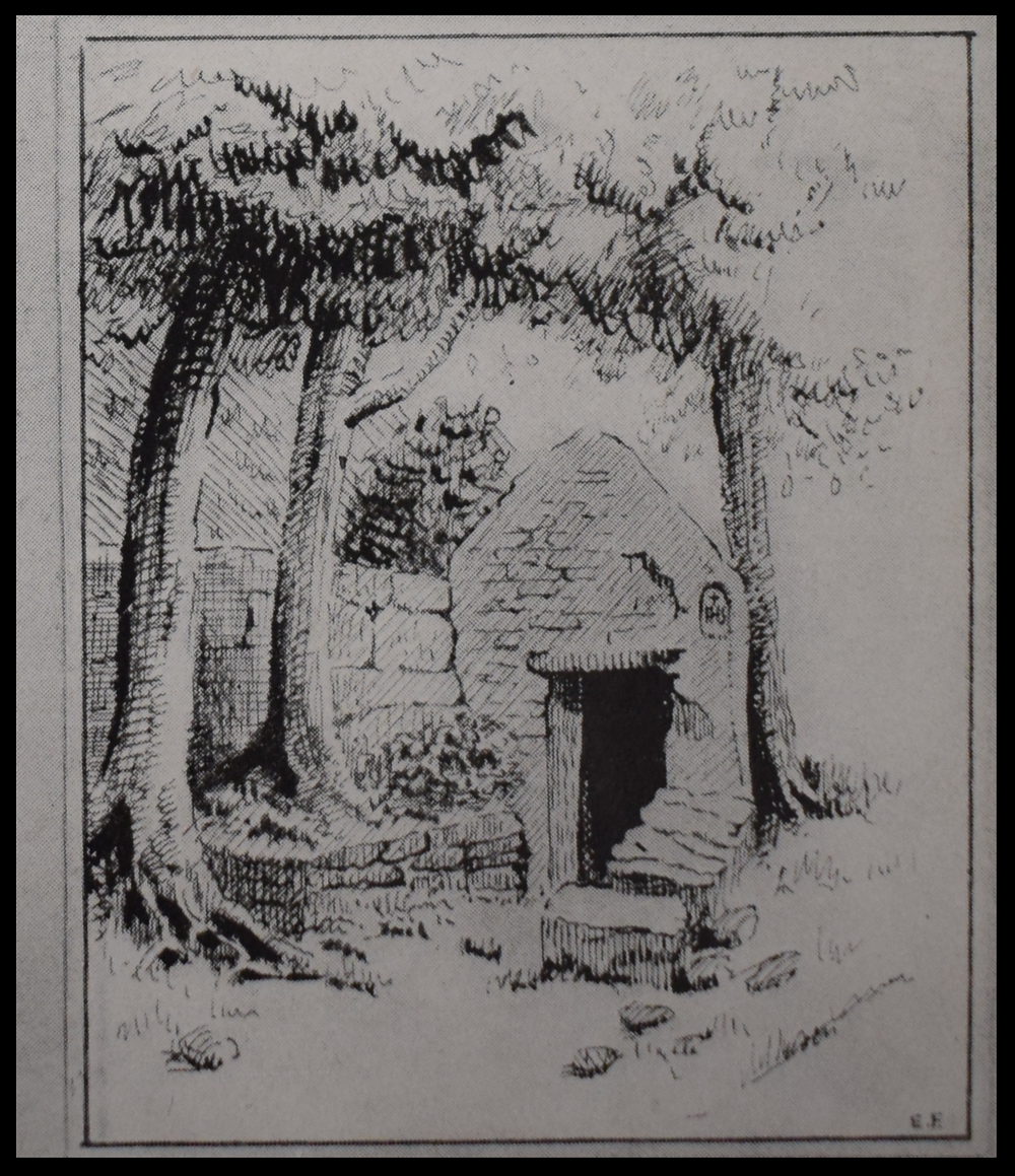 Sketch of Holy Well, Sunday's Well, c1845