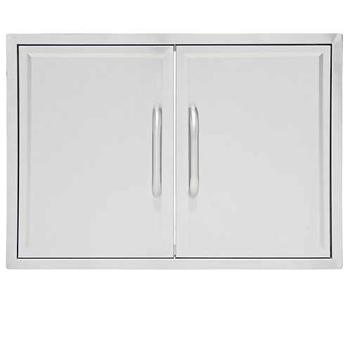 GAS8490AS Drop-In Grill Cabinet Double Access Door