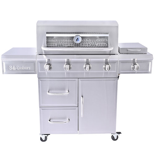 3 Embers® Four Burner Gas Grill