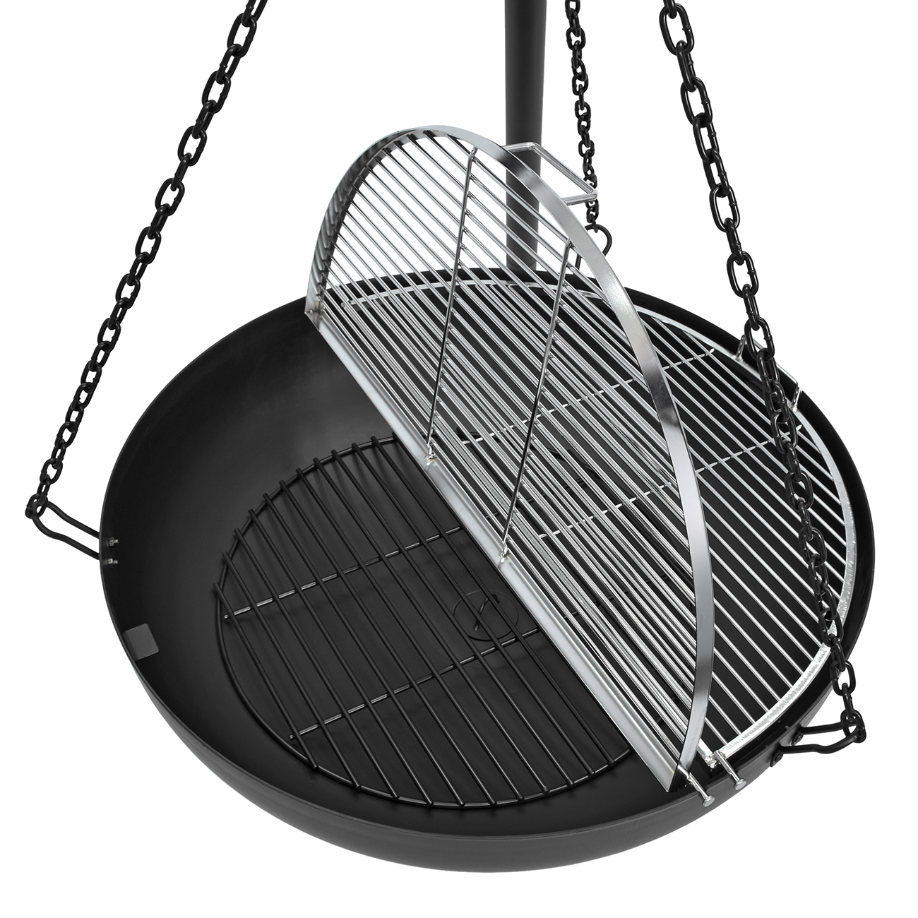 Hinged Cooking Grates