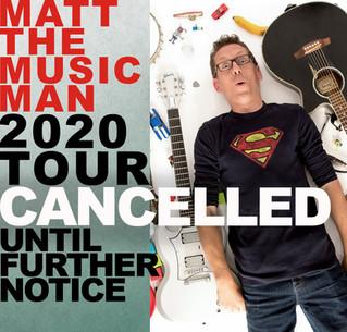 Tour Cancelled