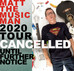 Tour Cancelled