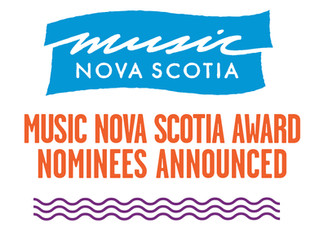 Music Nova Scotia Nomination!