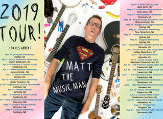 2019 Tour Dates Added!