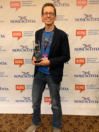Matt wins Children's Artist of the Year!