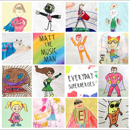 Everyday Superheroes CD