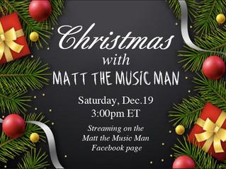 Christmas with Matt the Music Man