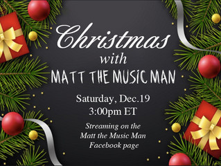 Christmas with Matt the Music Man