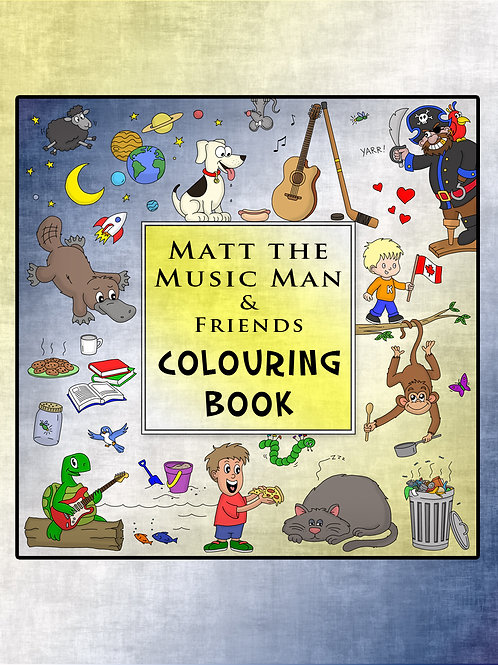 Matt the Music Man and Friends Colouring Book pdf Download