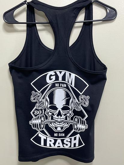 Women razor back Gym Trash first Addition
