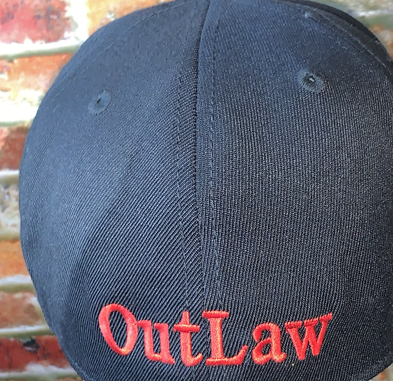 Black hat with Red Writing