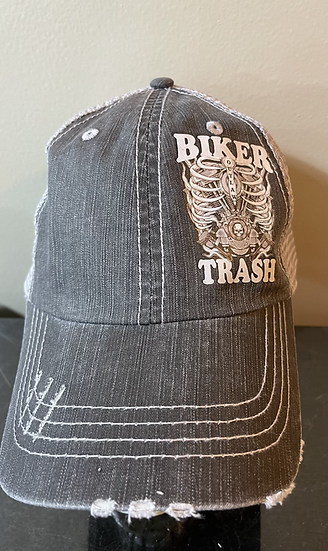 Caged Velcro back hat