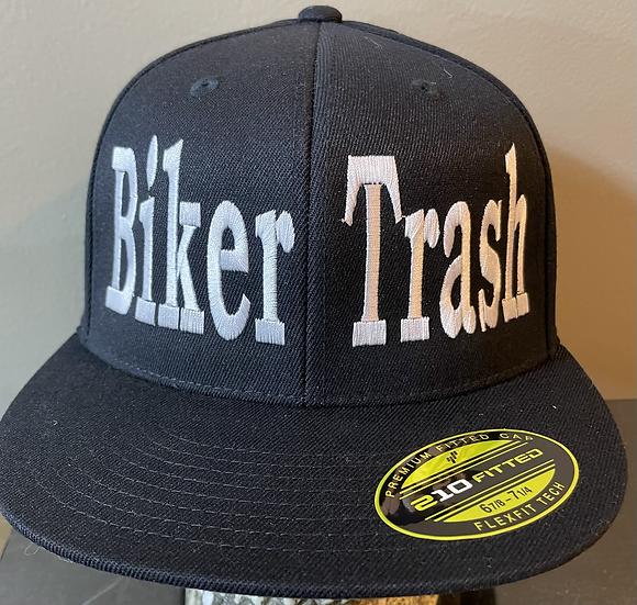 White logo Flexfit Hat ON BACK