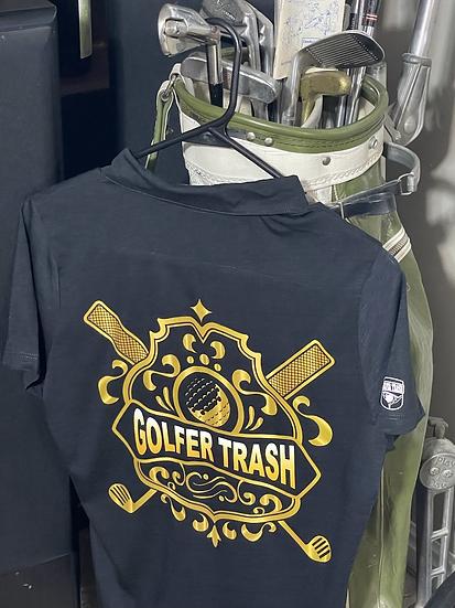 Golden Shield Golfer Trash