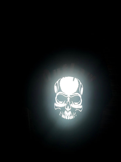 Skull for life Hoodie Reflective