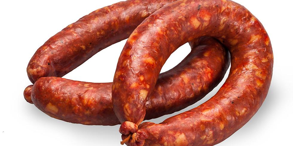 Sausage Making & Hot/Cold Smoking Workshop