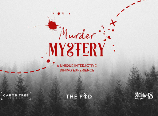 Murder Mystery at the Carob Tree foodcourt