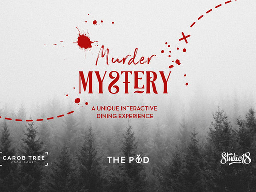 Murder Mystery at the Carob Tree foodcourt