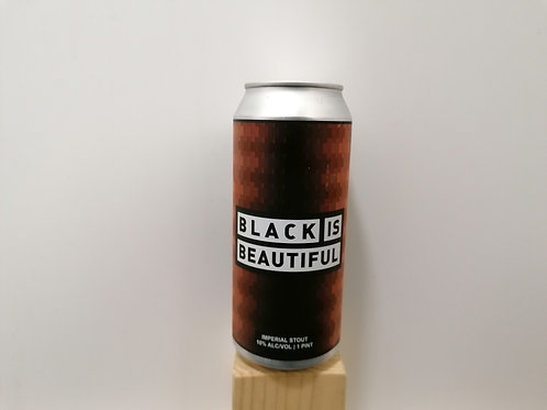 Black Is Beautiful (Marshmallow, Vanilla Beans & Cacao Nibs) - Imp. Stout