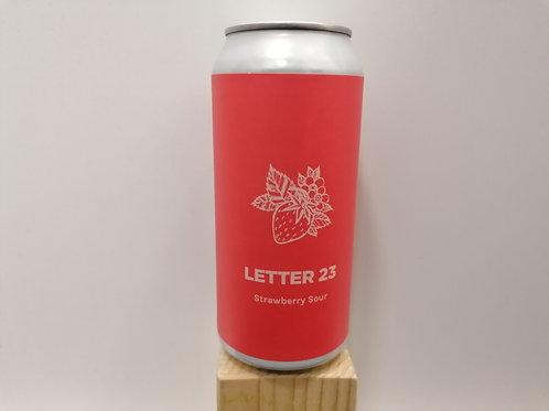 Letter 23 - Sour Ale