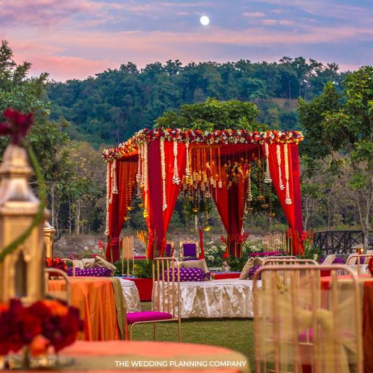 Outdoor Wedding Mandap