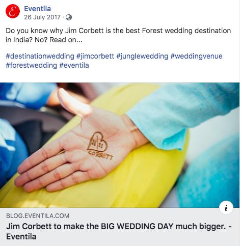Destination wedding at Jim Corbett