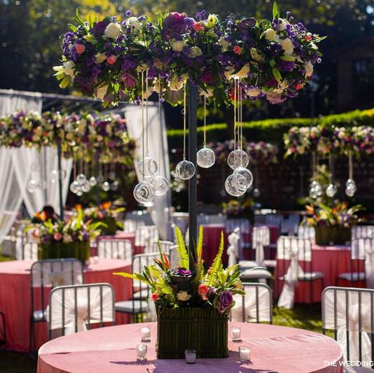 Sundowner Wedding Decor