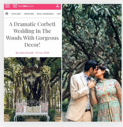 Wedding in the woods by TWPC