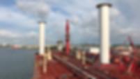 flettner rotors on maersk tanker