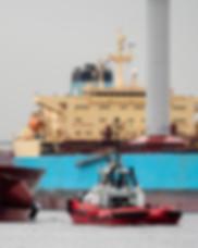 MaerskPelican with flettner rotor