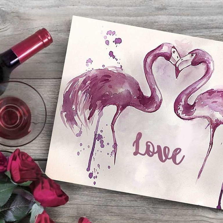 МК Wine painting - Рисование вином