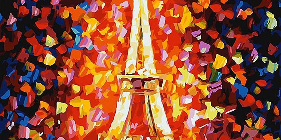 """Арт-вечеринка """"Окно в Париж"""""""