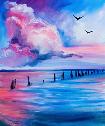 Ванильное небо