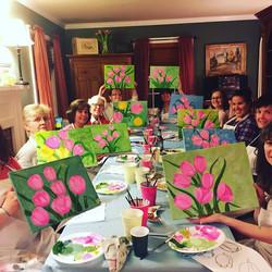 birthday painting party essex