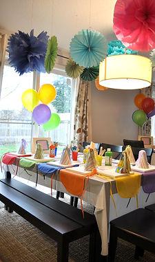 Арт-вечеринка на день рождения