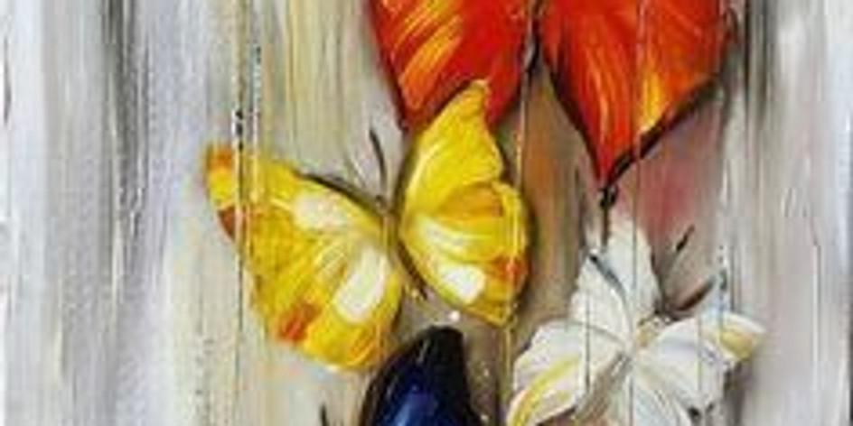 """Арт-вечеринка """"Бабочка. Расправить крылья"""""""