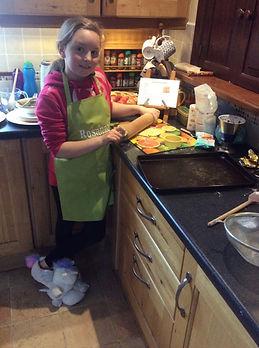 Rosanna baking cookies.jpg