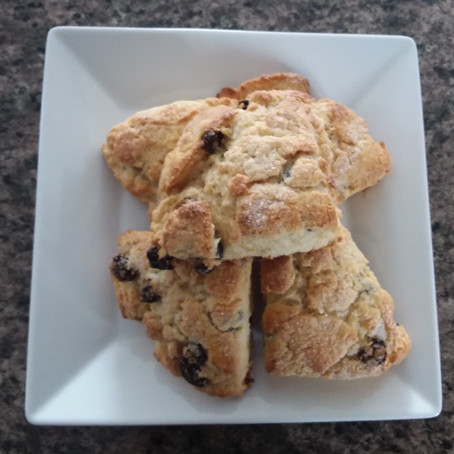 Time for a Treat - Cream Scones
